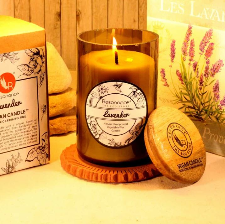 how to decorate candle fragrant