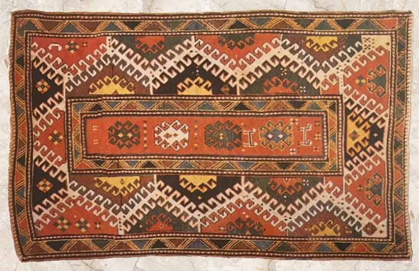 Caucasian rug carpet types ethnic nomadic
