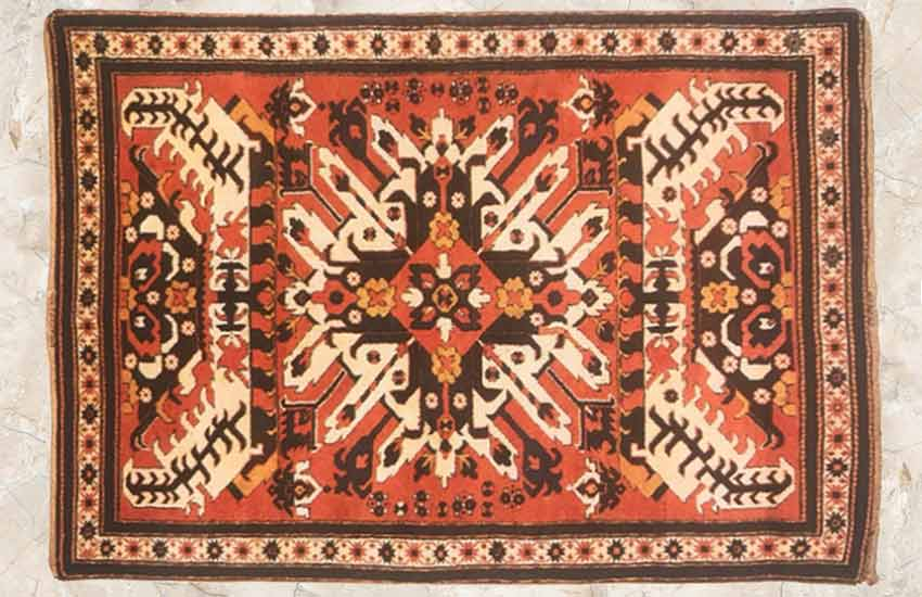 Turkoman-1 geometric design rug carpet types