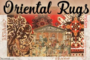different types of oriental-rugs carpets