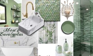 olive-moss-green Bathroom Color Schemes light colors