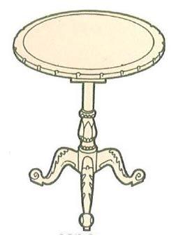 mahagony-pedestal-table