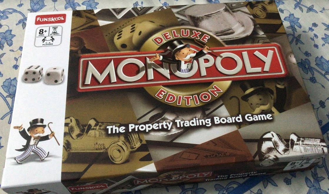monopoly-board game classic for kids