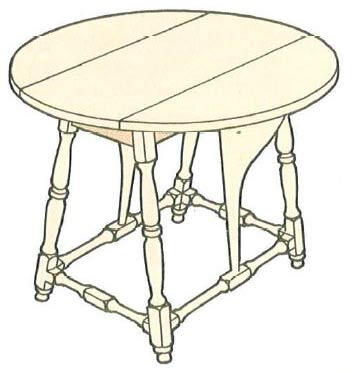 new-england-butterfly-table