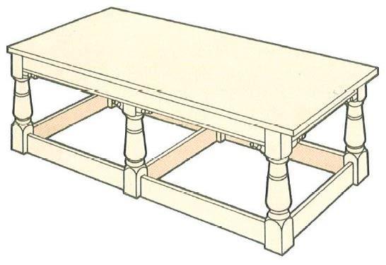 oak-frame-table