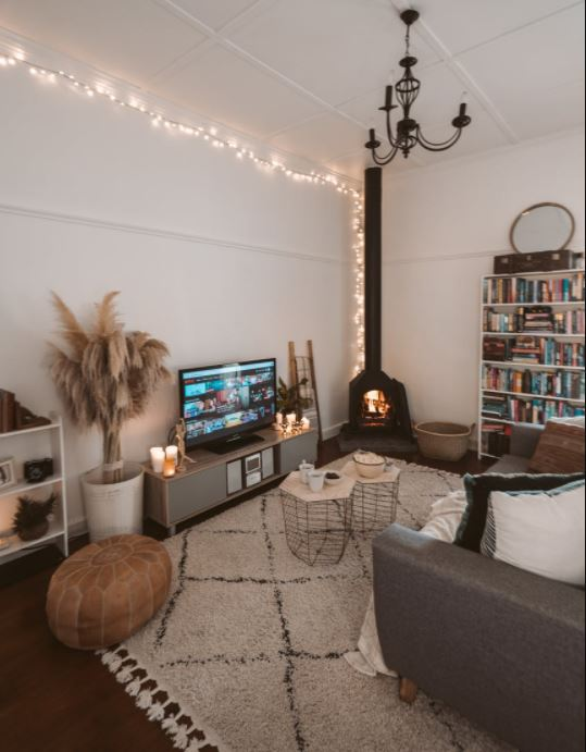 shabby chic living room interior decor